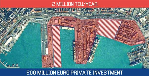 LSCT 2 million TEU/year