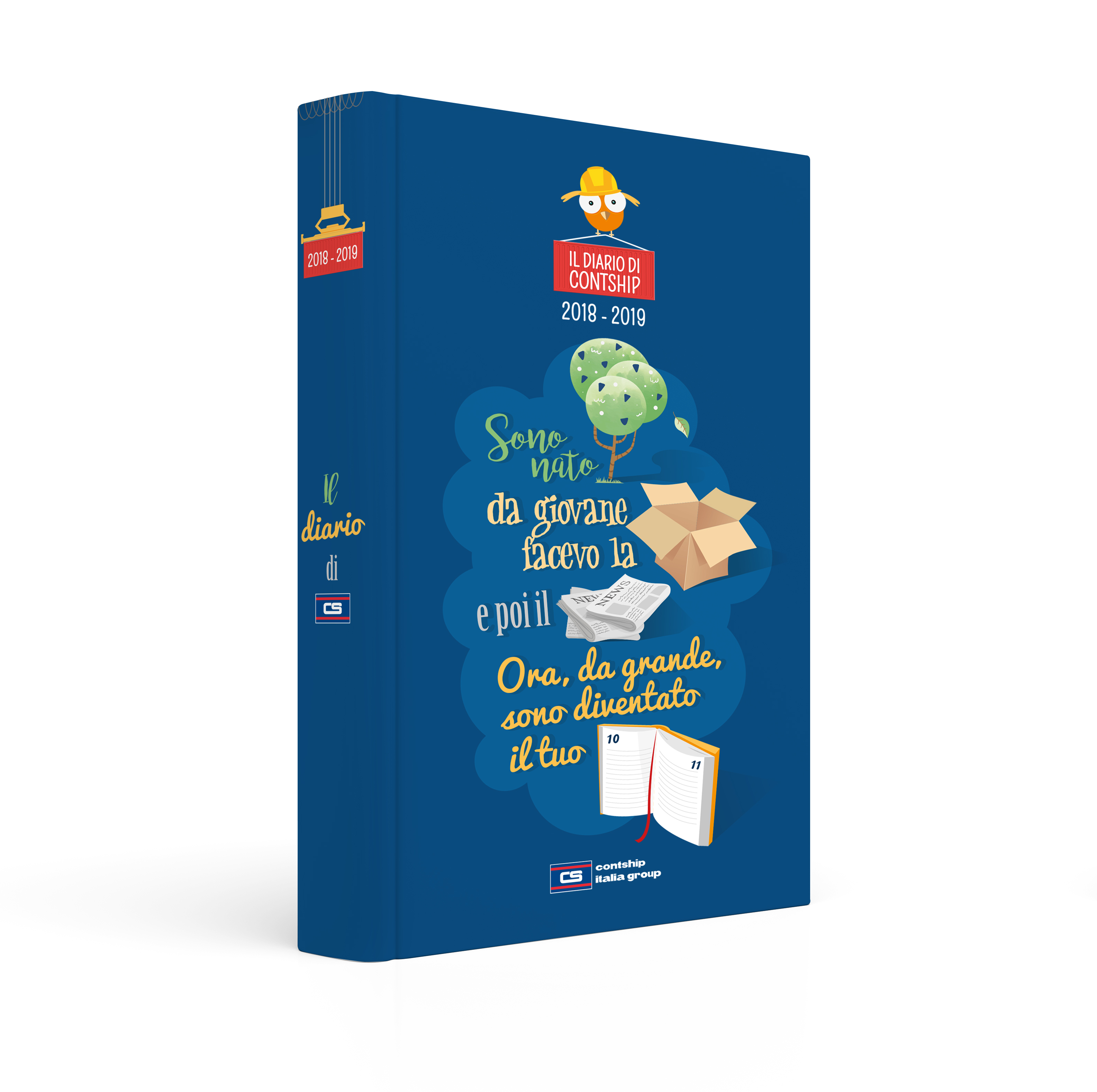 Thirteenth Edition of Contship Homework Diary | Contship