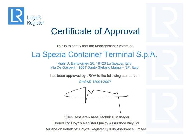LSCT OHSAS 18001:2007