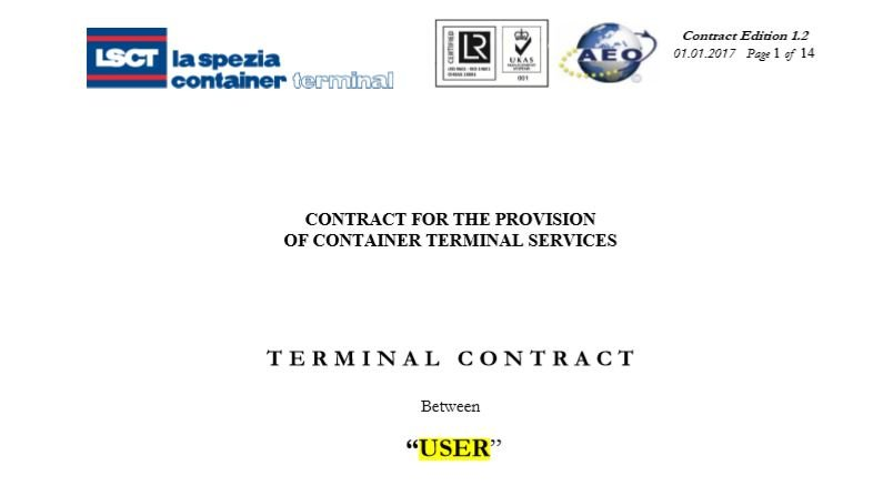 LSCT Standard Contract