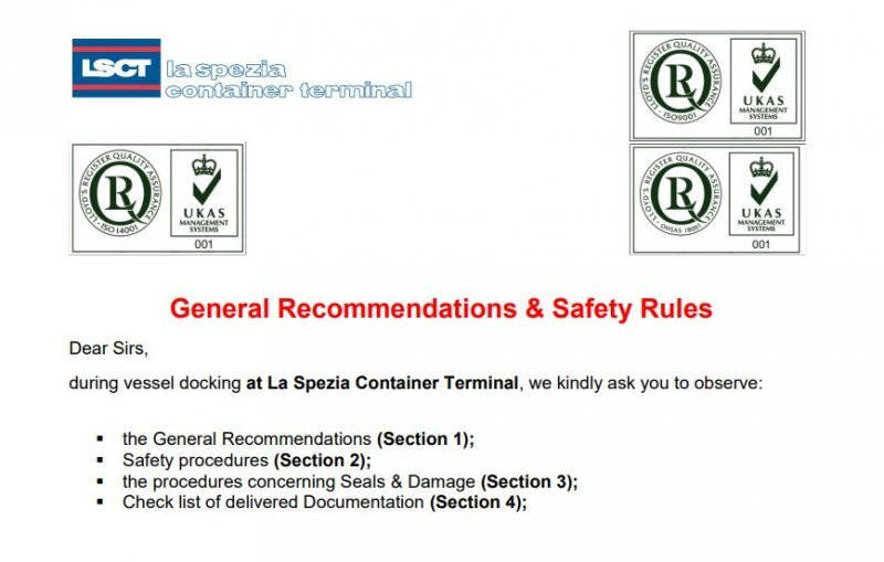LSCT Modulo 9.2 C General Recommendation & Safety Rules