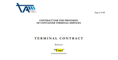 TA Standard Contract