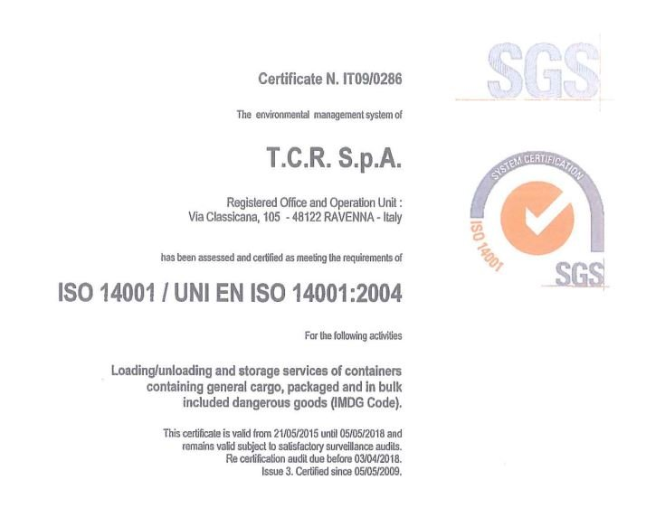 TCR ISO 14001:2004 ENG