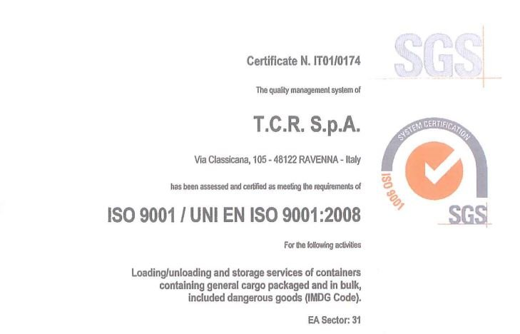 TCR ISO 9001:2008 ENG