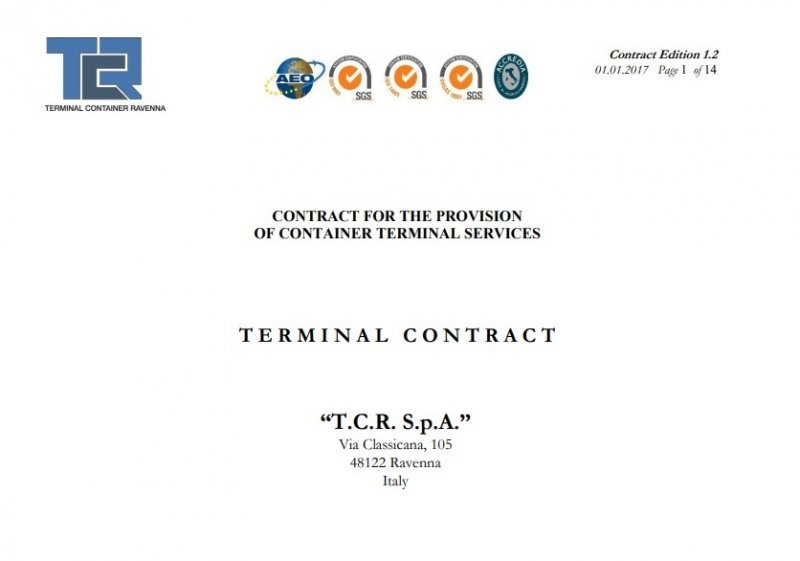 TCR Standard Contract