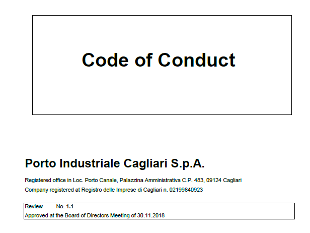 CICT Code of Conduct