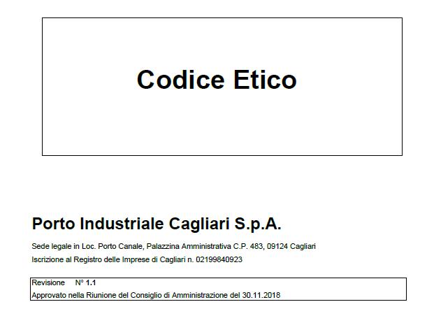 Codice Etico CICT
