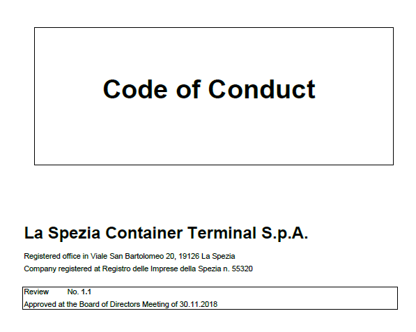LSCT Code of Conduct