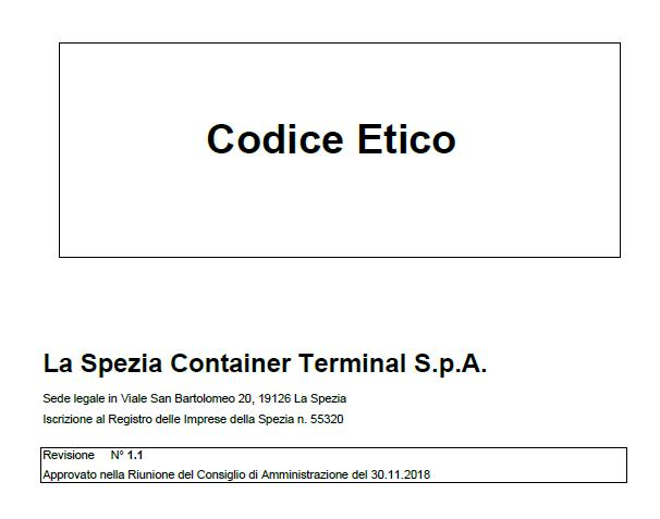 Codice Etico LSCT