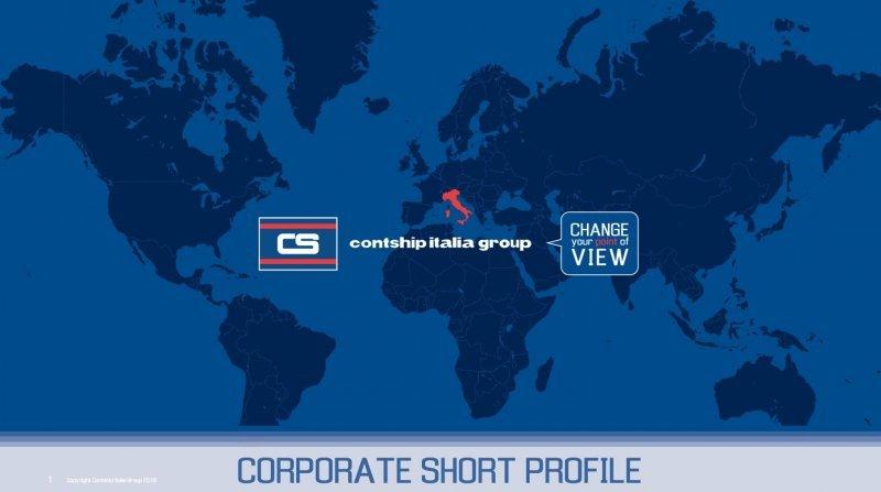 Contship Italia Group Presentation - SHORT