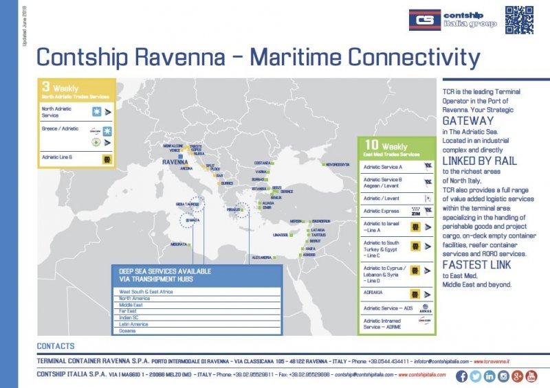 TCR Maritime Connectivity Leaflet