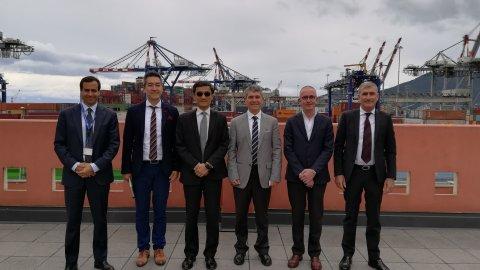 Evergreen Mritime Corp. visiting Contship La Spezia Container Terminal