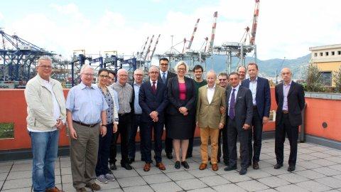 Baden-Württemberg inland ports delegation