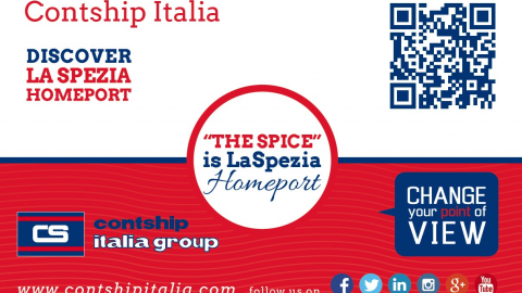 Badge Contship Italia Group in Asia - 2015
