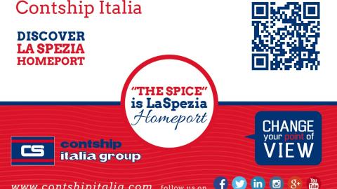 Badge Contship Italia Group in Asia - 2015