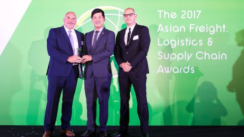Contship LSCT Best Container Terminal in Europe - AFLAS 2017