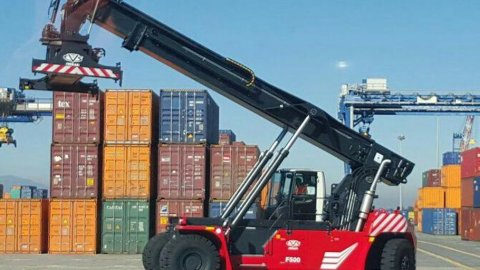New Ferrari Reach Stackers at CICT
