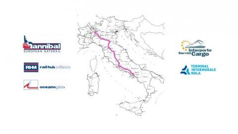 New rail service Melzo-Nola