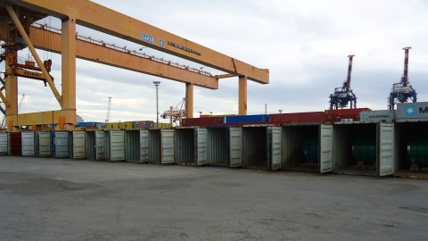 Coils Containers at TCR