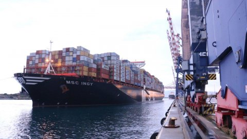 MSC Ingy at Medcenter Container Terminal