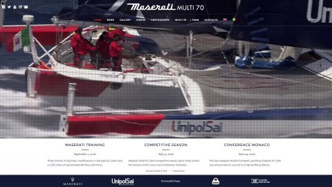 Contship for the team Maserati Multi70