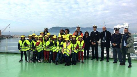 Visita Porto Lab al porto di Marina di Carrara
