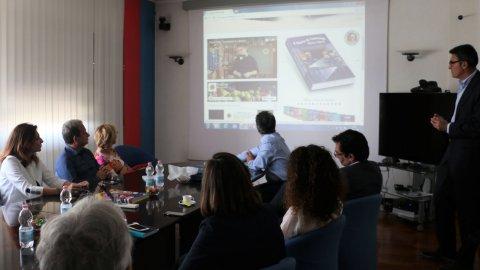 Presentation of the Contship Italia Homework Diary 18-19 Edition