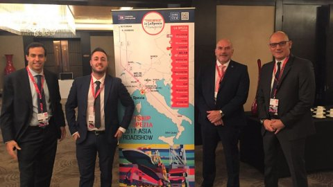 Contship Italia Delegation in Asia