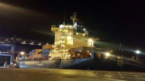 m/v Satie at CICT