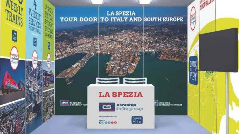 "La Spezia ""Homeport"" stand"