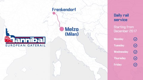 Hannibal Melzo-Frenkendorf Rail Service