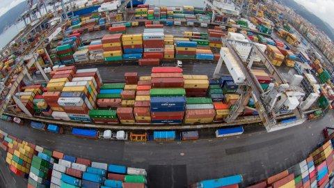 La Spezia Container Terminal Yard