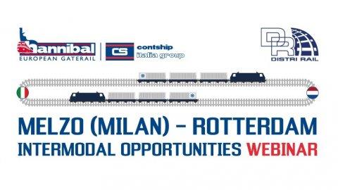 Hannibal-DistriRail Webinar on Italy-Netherlands intermodal opportunities