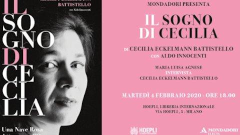 Cecilia-Eckelmann-Battistello-book-Il-sogno-di-Cecilia-February-4-2020-Milan