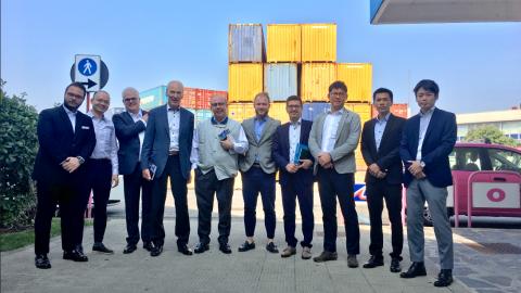 Mitsui Global Logistics e ICWL a RHM Milano