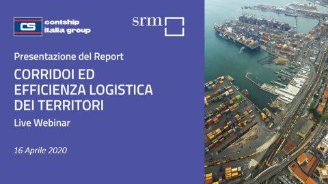 Webinar SRM-Contship presentazione studio 2020 su corridoi ed efficienza logistica dei territori
