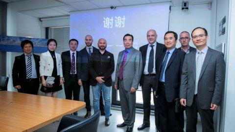 Zuhai delegation visits Contship La Spezia Container Terminal